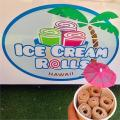 Ice Cream Rolls Hawaii